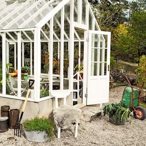 Vädringsfönster till växthus